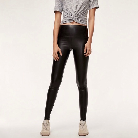9b794dad2f41e Aritzia Pants | Wilfred Free Daria Faux Leather Legging | Poshmark